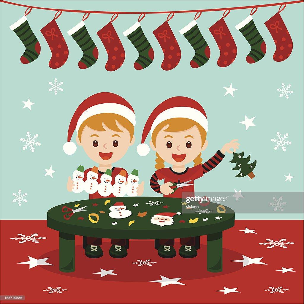 Christmas art and craft fun