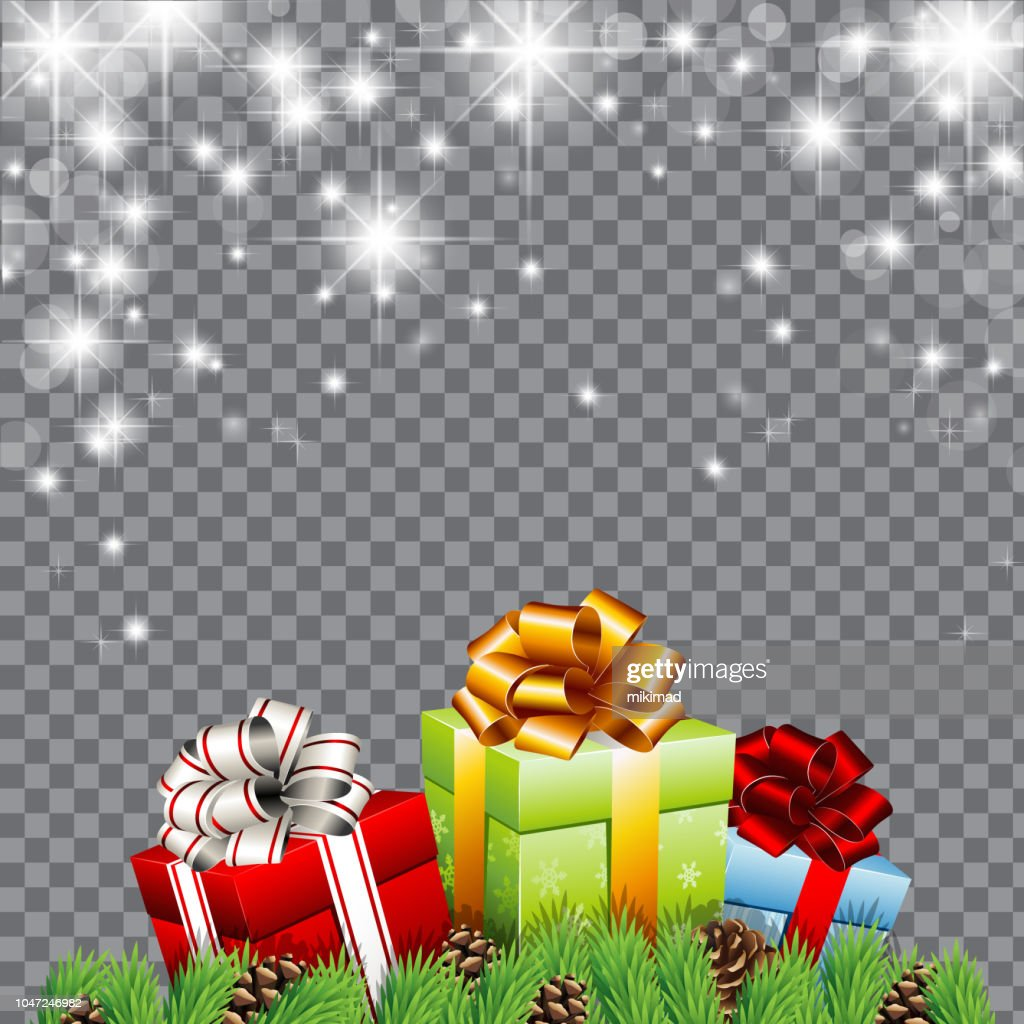 Christmas Background Christmas Gift Vector Illustration High Res Vector Graphic Getty Images