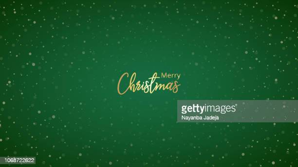 christmas background for greetings - green colour stock illustrations