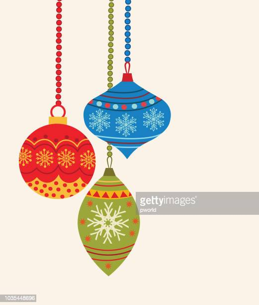 christmas background . - christmas ornament stock illustrations