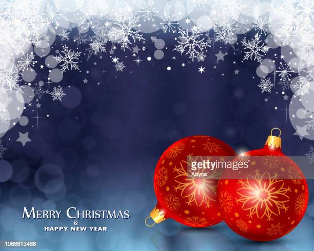 christmas background - red and blue background stock illustrations