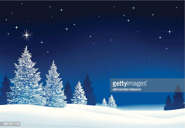 christmas background - non urban scene stock illustrations