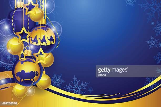 christmas background - star of bethlehem religious symbol stock illustrations, clip art, cartoons, & icons
