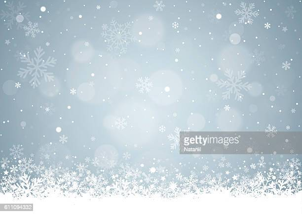 christmas background - blizzard stock illustrations