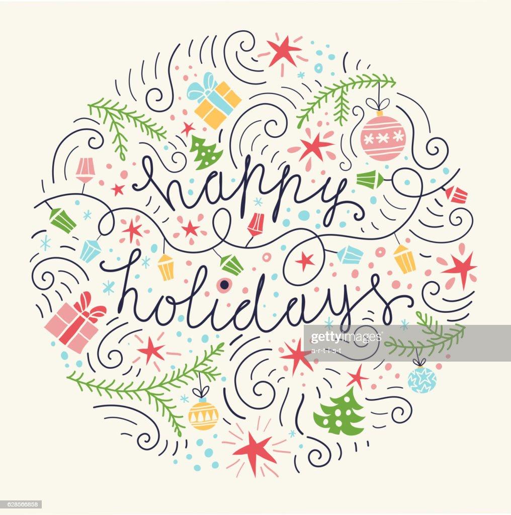 Christmas background : stock illustration