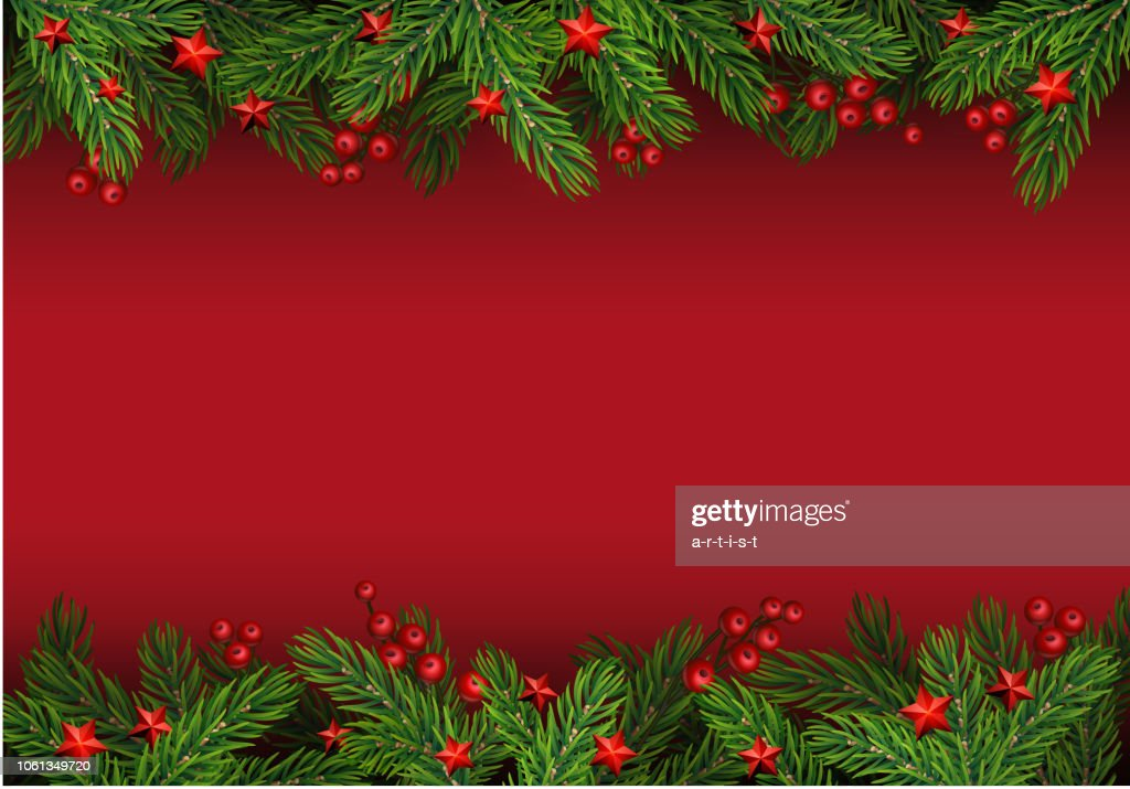 Christmas background with fir tree : stock illustration