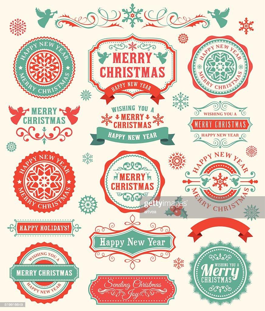 Christmas Badges