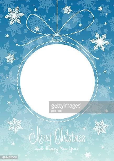 Christmas ball - greeting card