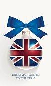 Christmas ball_British Flag