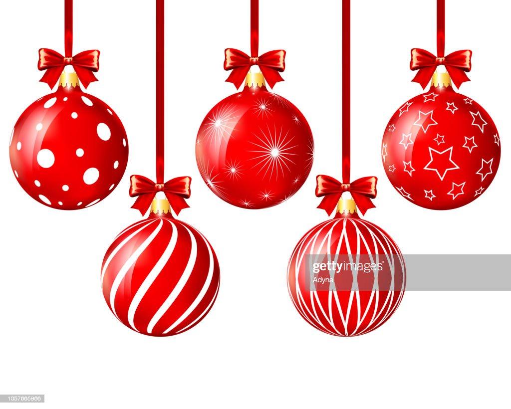 Christmas Balls : stock illustration