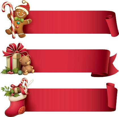 Christmas banner set - gettyimageskorea