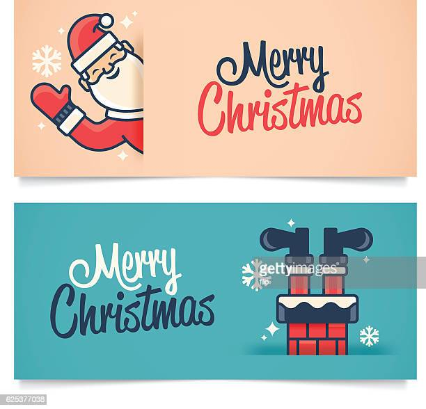 ilustraciones, imágenes clip art, dibujos animados e iconos de stock de banners de navidad - humor