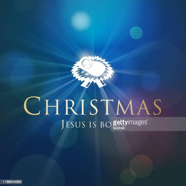 キリストのクリスマス誕生 - 偶像点のイラスト素材/クリップアート素材/マンガ素材/アイコン素材