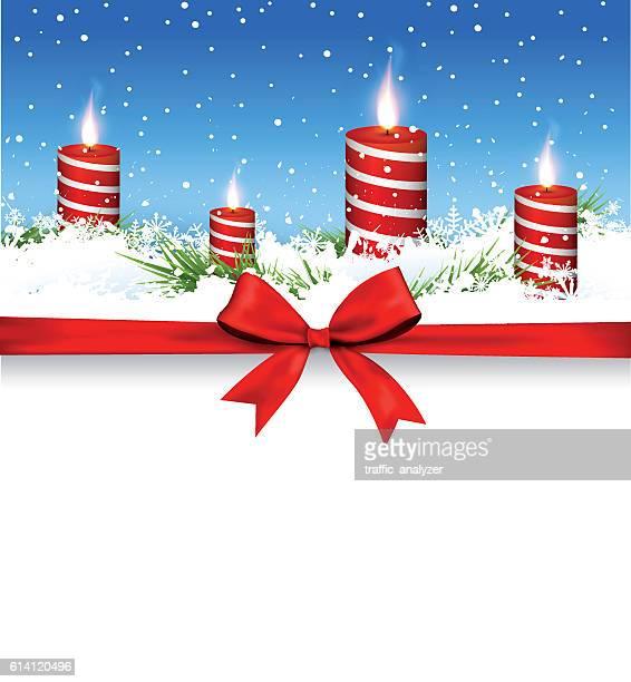 Weihnachten-Kerzen