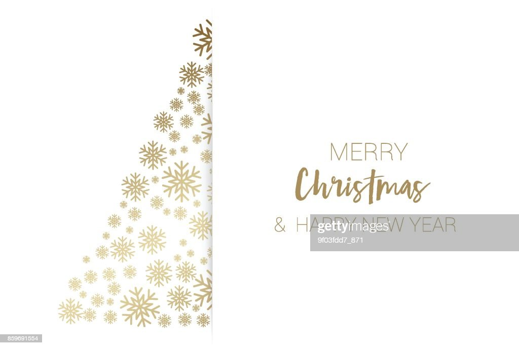 Christmas Card gold glitter, Background abstract, Vector illustration