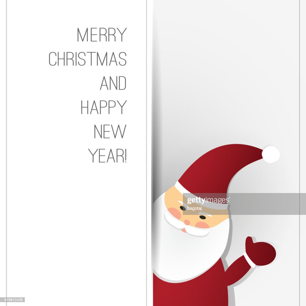 Christmas Card Template Vector Art Getty Images