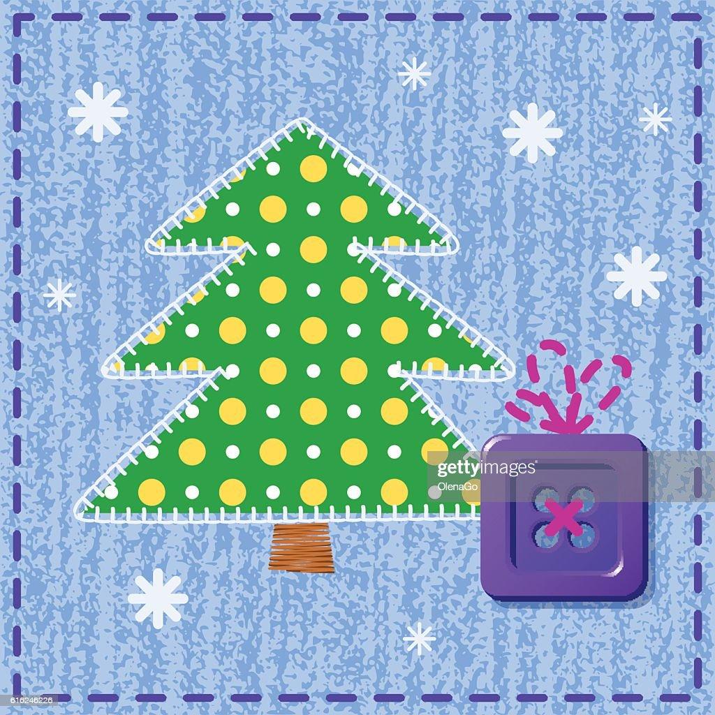 Christmas card : Vector Art