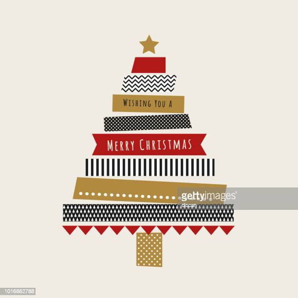 Christmas card with Washi Tape