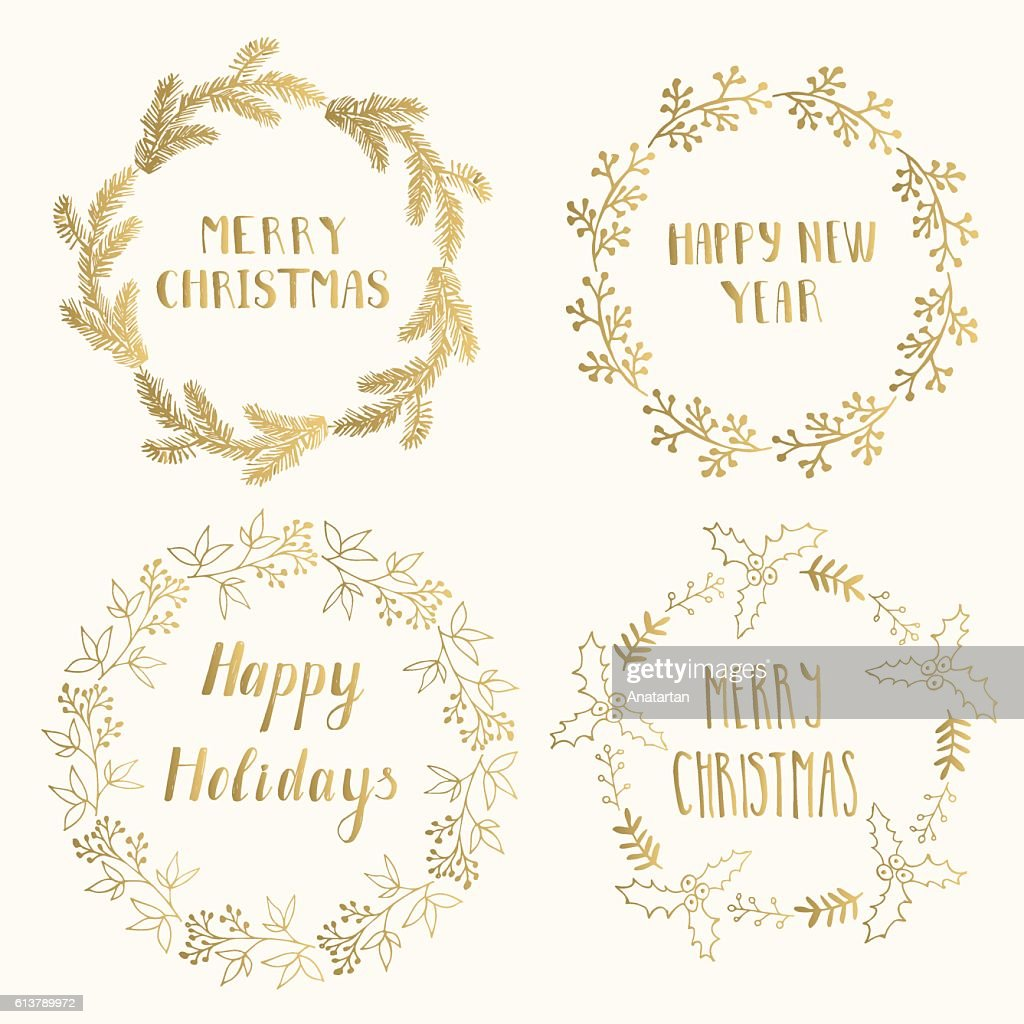 Christmas cards template