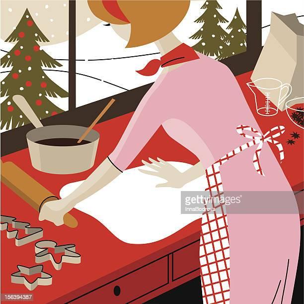 Christmas chores.