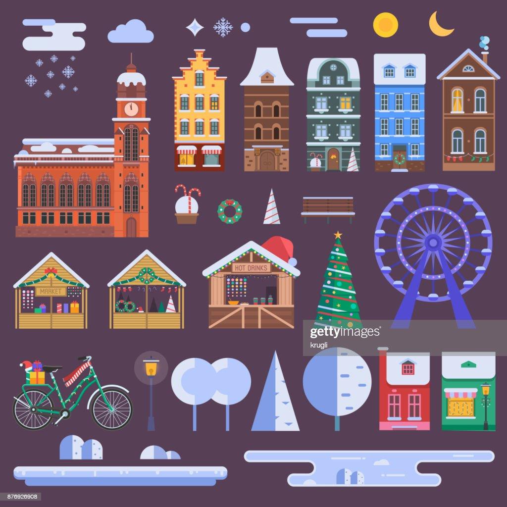 Christmas City Constructor