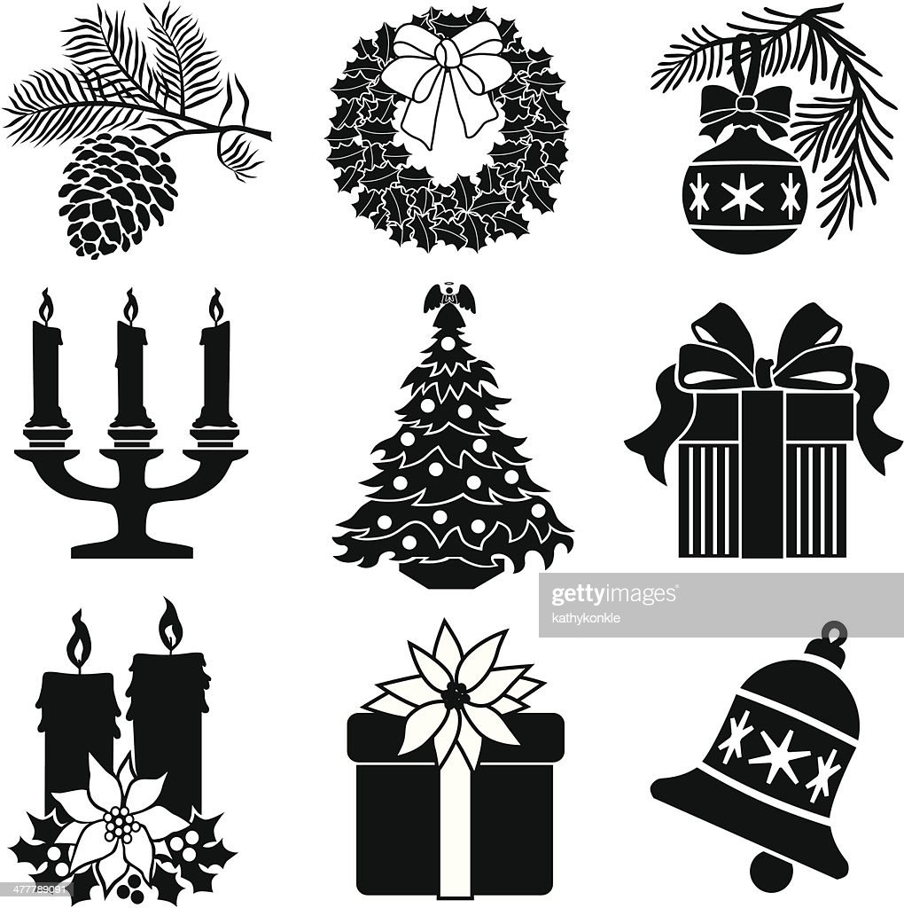 Christmas Decorations Stock Vector