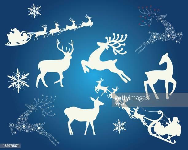 クリスマスデザイン要素 - 手綱点のイラスト素材/クリップアート素材/マンガ素材/アイコン素材