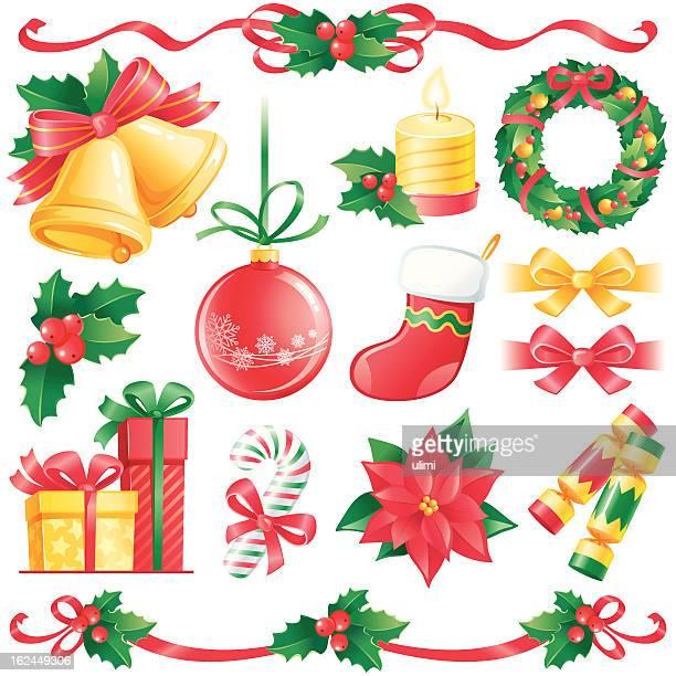 44 217点のクリスマスの飾りイラスト素材 Getty Images