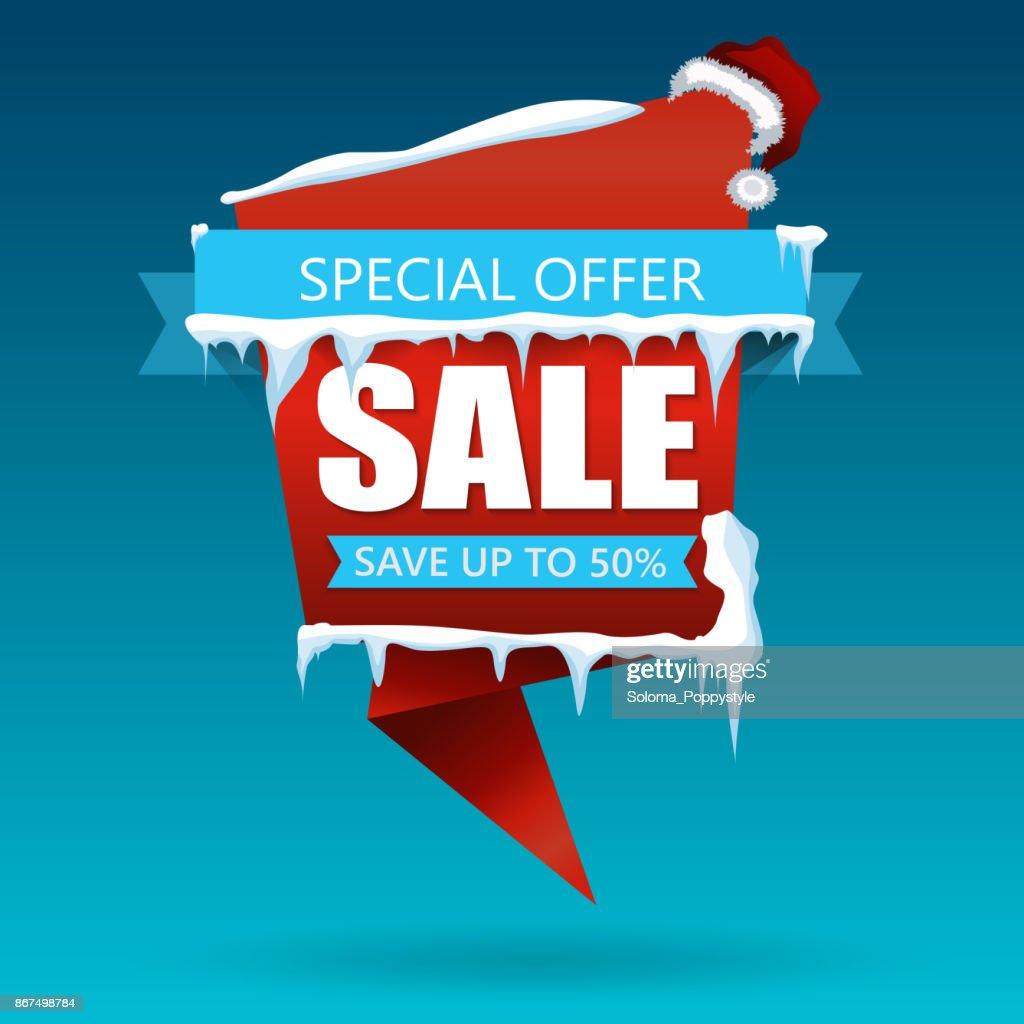 Weihnachten Rabatt Verkauf Banner ...