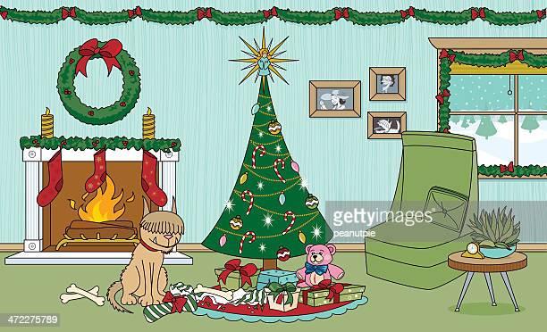 Christmas Dog Present