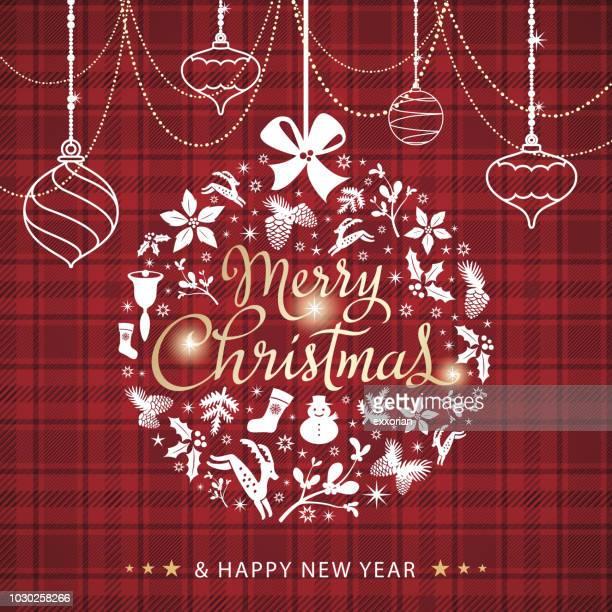 クリスマス要素安ピカ装飾