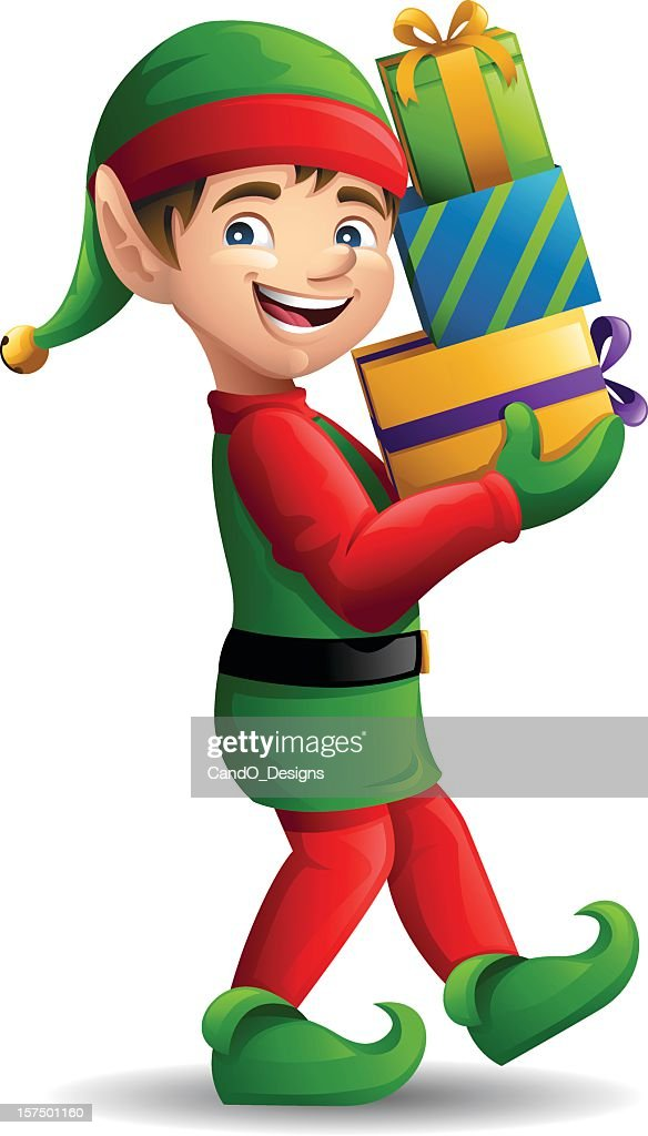 Christmas Elf: Carrying Presents