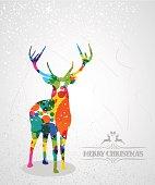 Christmas fashion reindeer