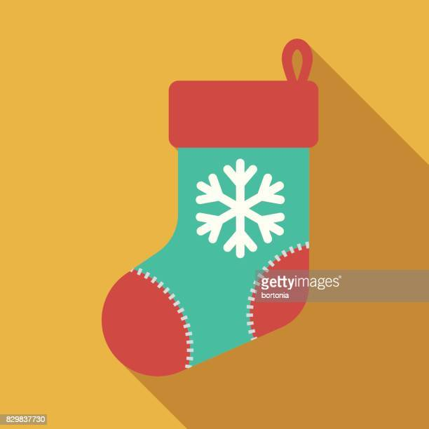 Christmas Stocking Clipart.World S Best Christmas Stocking Stock Illustrations Getty