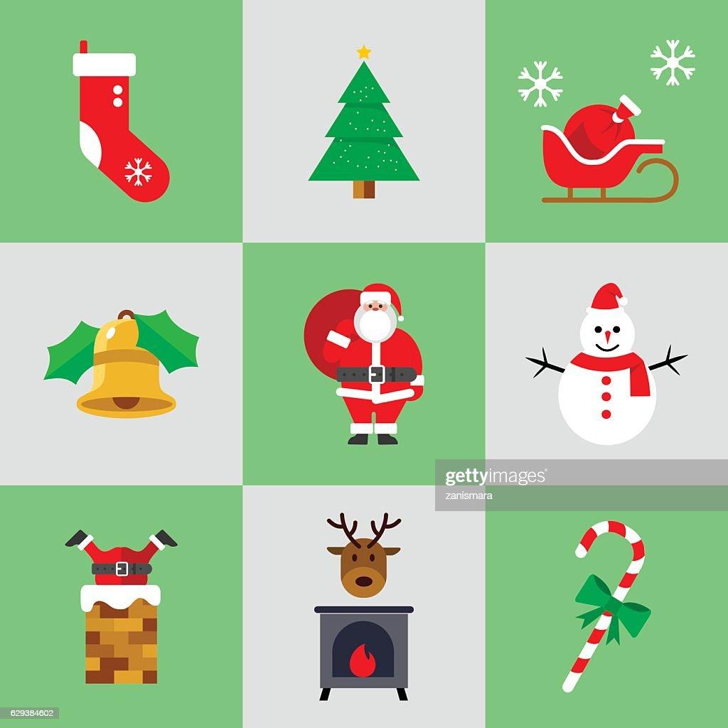 Christmas Flaticon Set