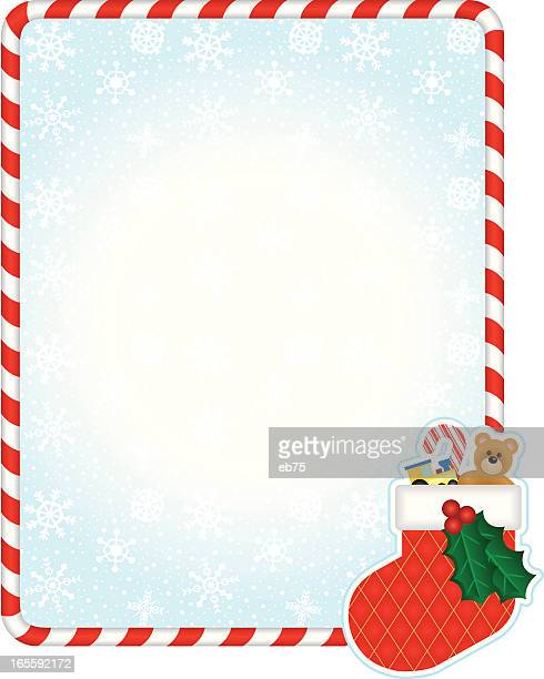 Christmas Stocking Stock Illustrations And Cartoons
