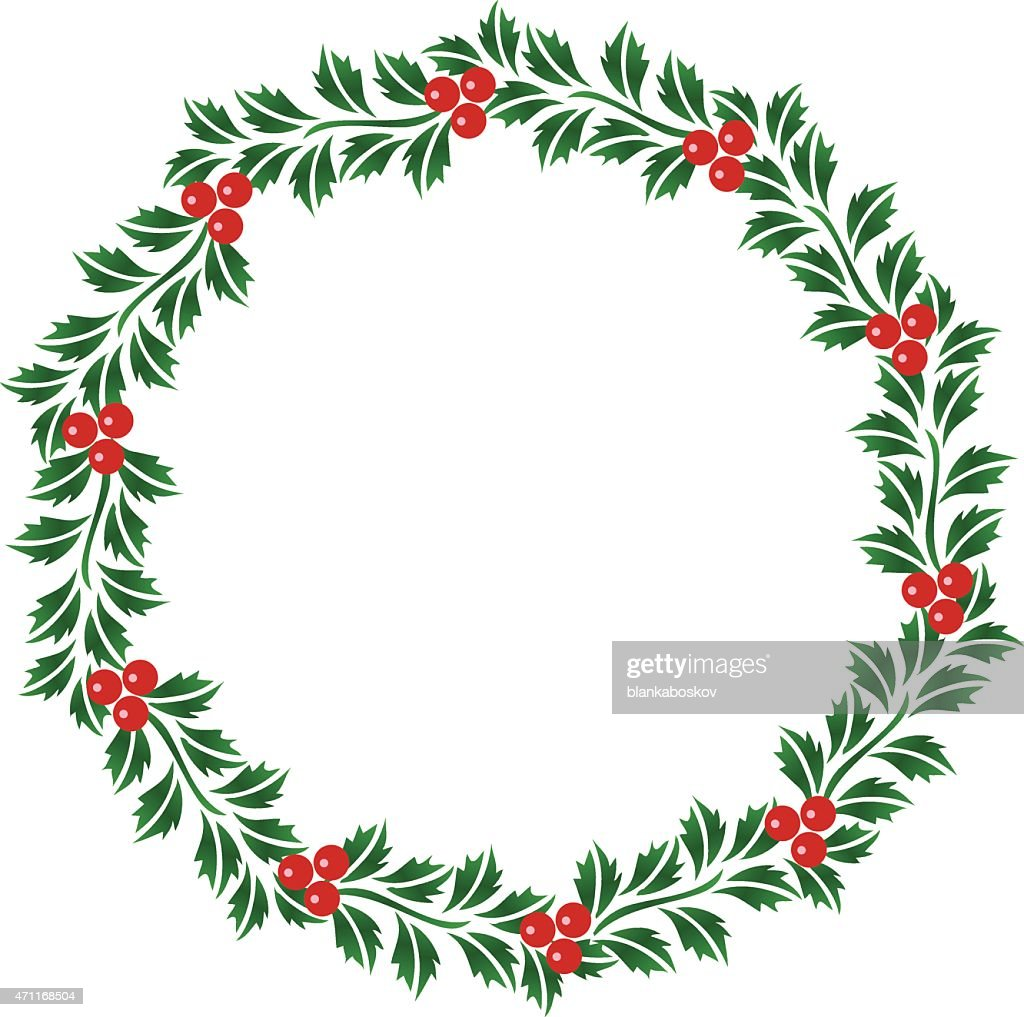 christmas garland vector christmas garland vector art getty images 336