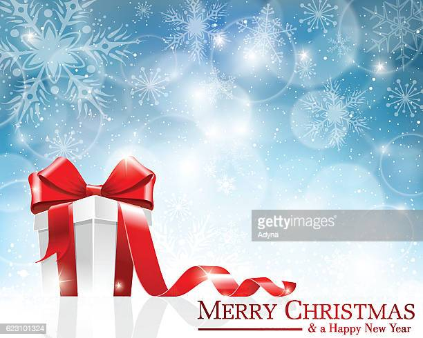 christmas gift box - closed stock illustrations, clip art, cartoons, & icons