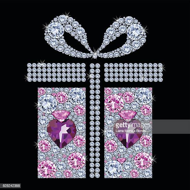 christmas gift - goodie bag stock illustrations, clip art, cartoons, & icons