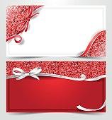 christmas gift voucher card template