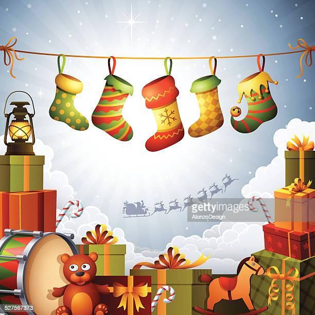 Christmas Gifts and Stockings