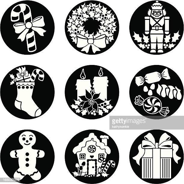 ilustraciones, imágenes clip art, dibujos animados e iconos de stock de navidad alimentos para el inversa - mint plant family
