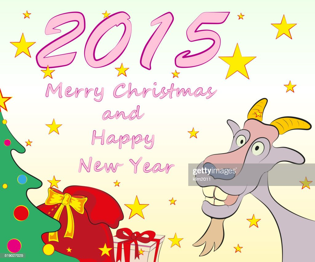 Christmas greeting cards symbol of new year 2015 vector illustration christmas greeting cards symbol of new year 2015 vector illustration vector art m4hsunfo