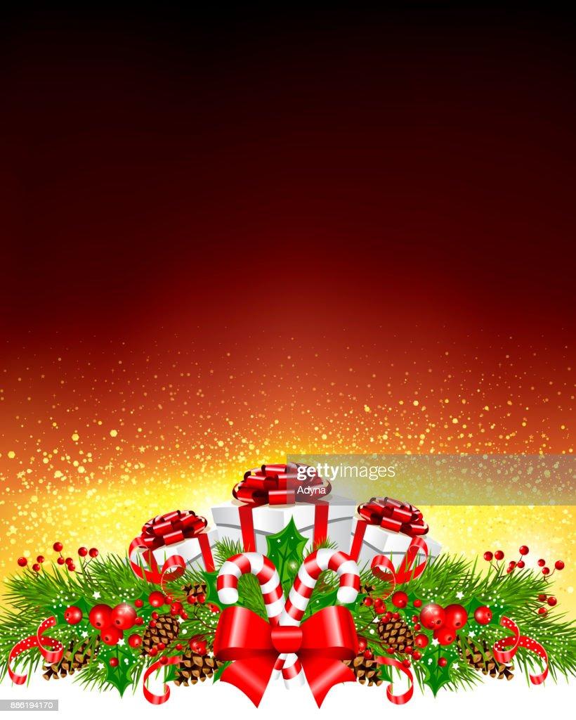 Weihnachten Begrüßung Vektorgrafik | Getty Images
