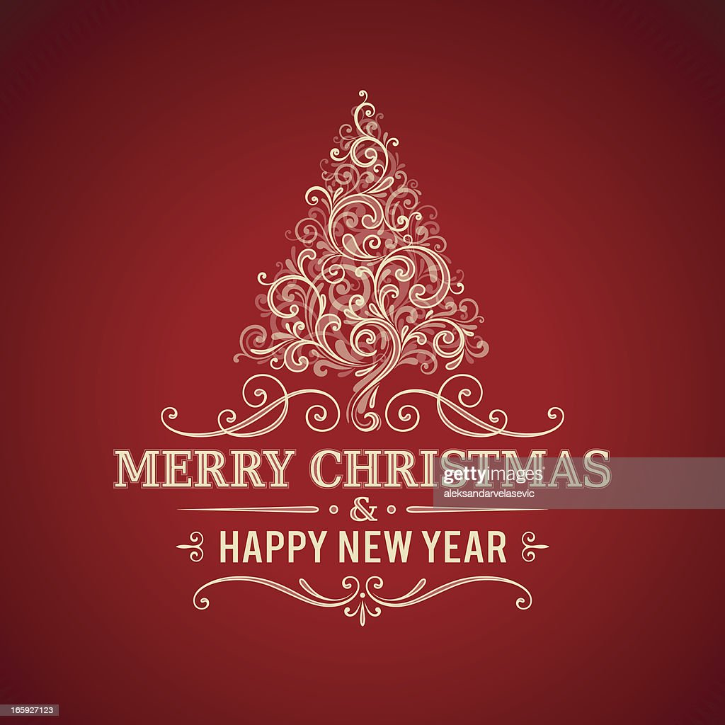Christmas Greetings Frame Vector Art Getty Images