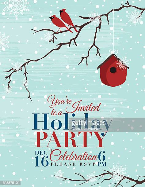 Christmas Holiday Party Invitation Template