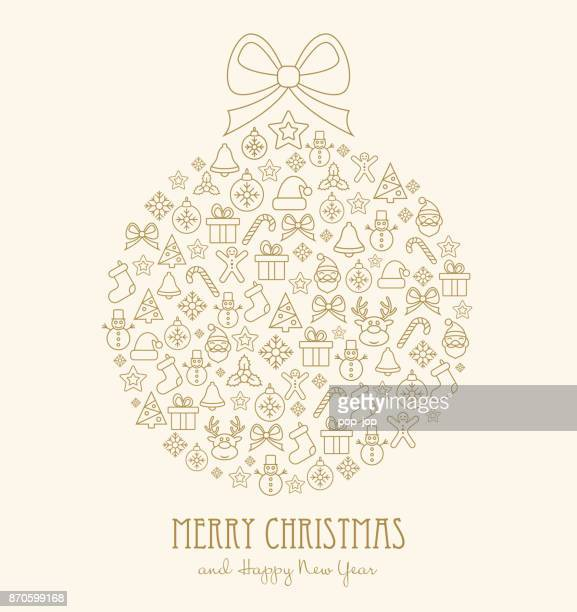 christmas holiday winter new year sale background - ball - national holiday stock illustrations, clip art, cartoons, & icons