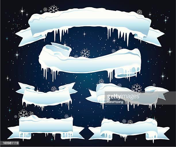 クリスマスバナー Ice