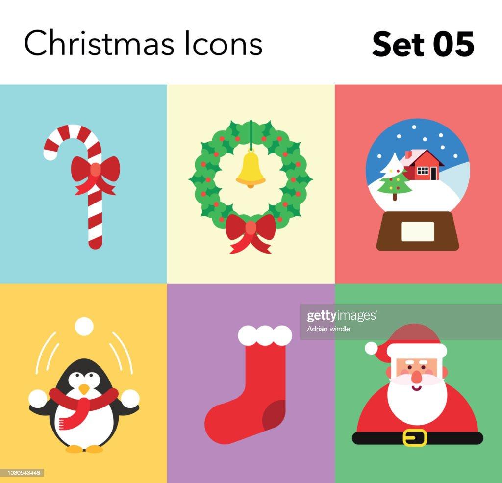 Christmas Icon – Set 05