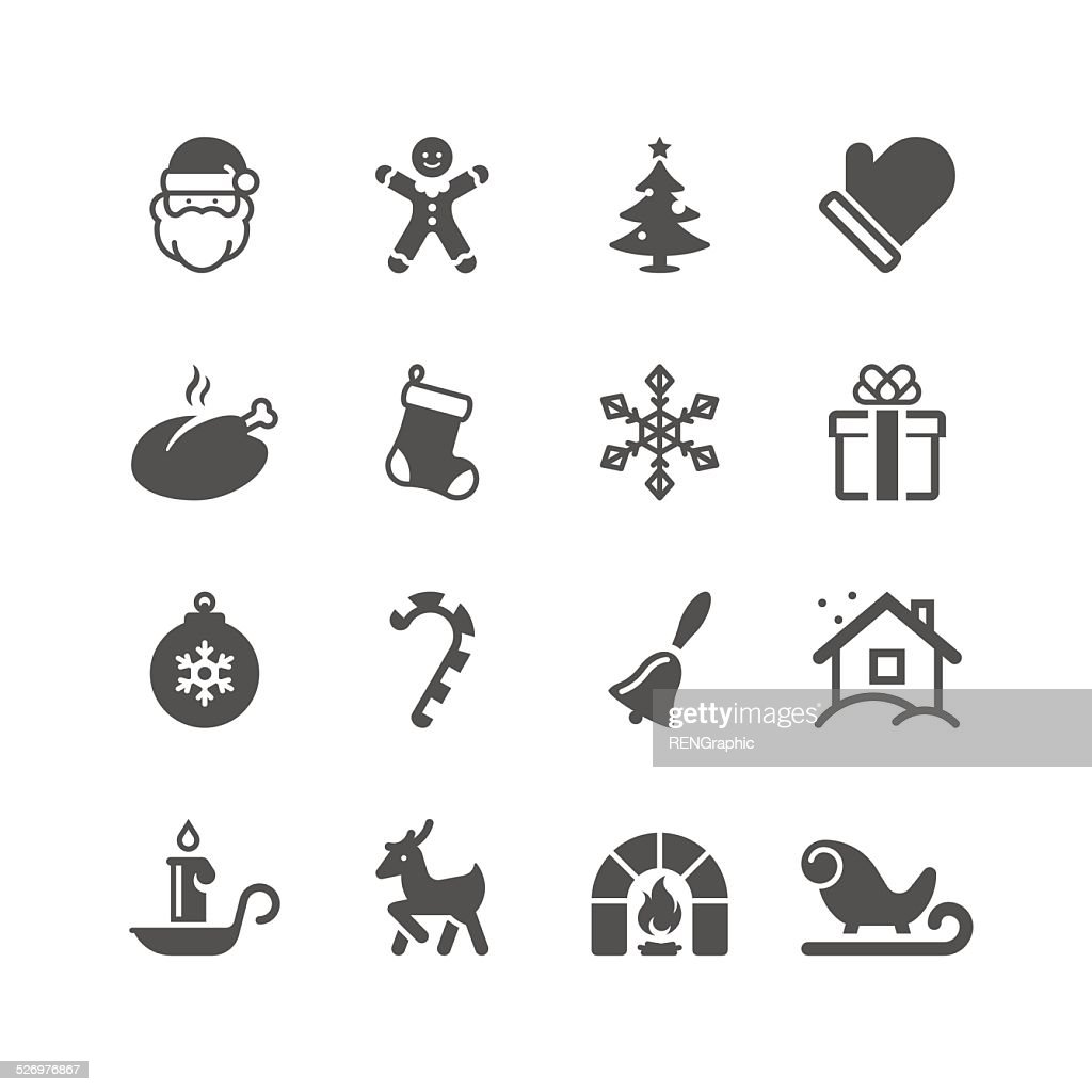 Christmas Icon Set | Unique Series